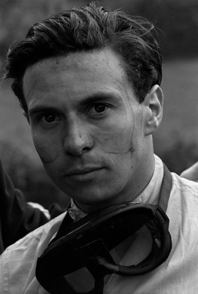 Jesse Alexander's iconic candid shot of Jim Clark, Spa-Francorchamps, 1962.